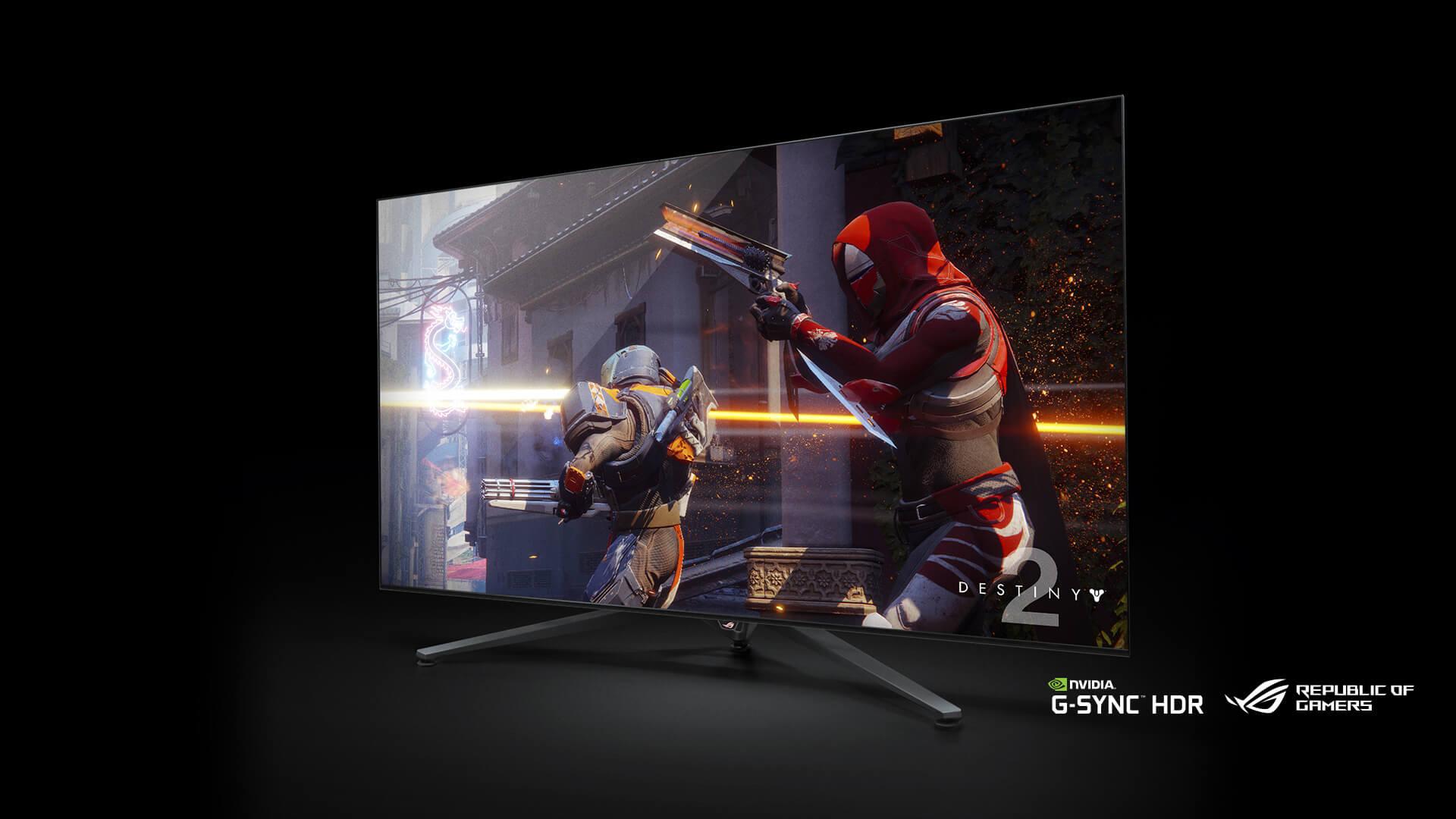 NP: CES2018 – NVIDIA presenta una nueva línea de monitores gaming de gran formato