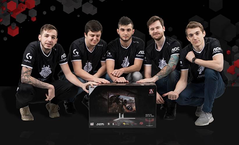 NP: AOC nuevo patrocinador de G2 Esports