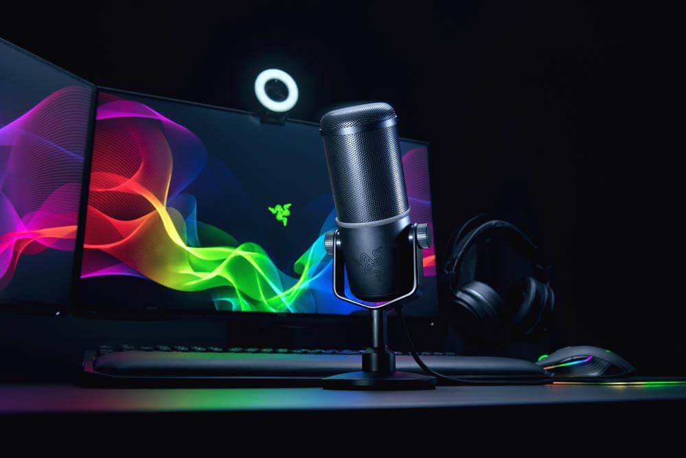 Razer Seiren Elite, un micrófono diseño para streamers