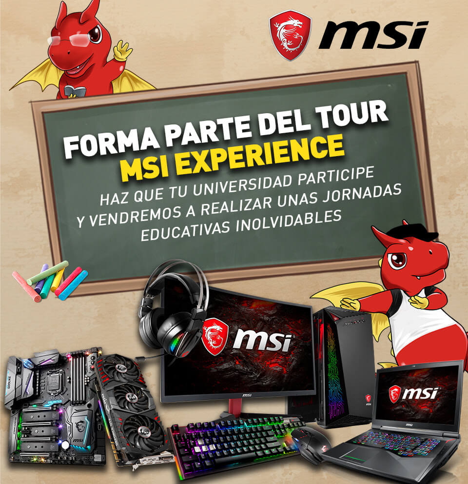 NP: ¡Forma parte del tour MSI Experience!