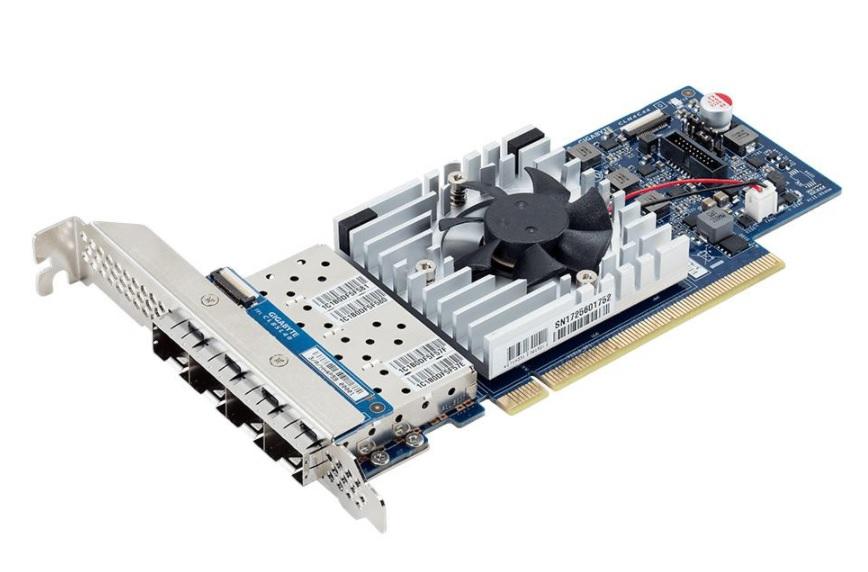 Gigabyte presenta su tarjeta de red LAN SFP28 Quad 10GbE