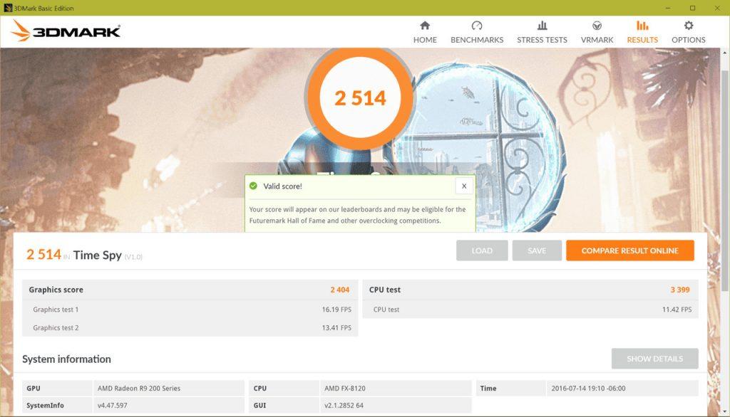 Futuremark lanza la actualización 3DMark v2.4.4254