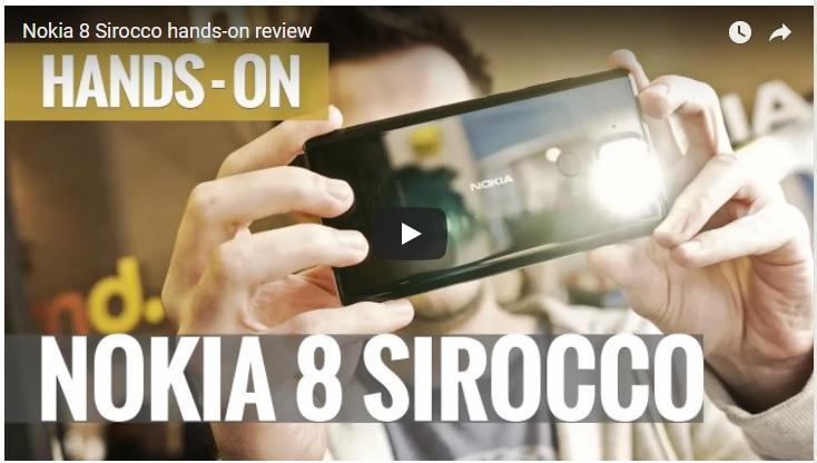 MWC2018: Nokia 8 Sirocco en el Mobile World Congress