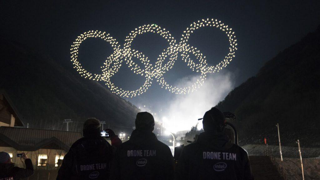 NP: El espectáculo de luz con drones de Intel logra un Récord Guinness Mundial en los Juegos Olímpicos de Invierno de PyeongChang 2018