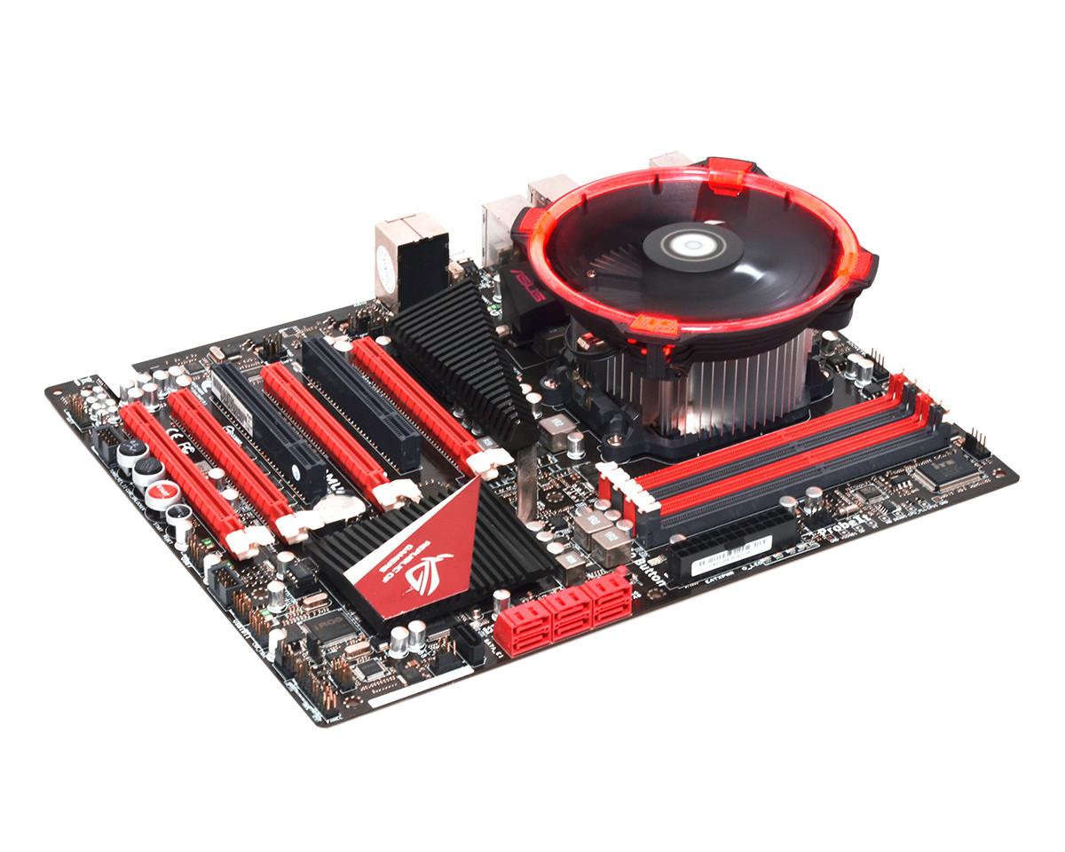 ID-Cooling lanza su nuevo disipador DK-03 Halo AMD Red