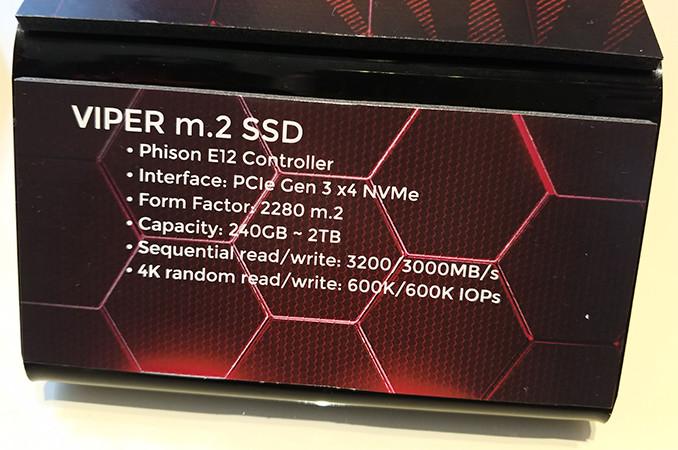 Patriot presenta su nueva serie de SSDs Viper M.2