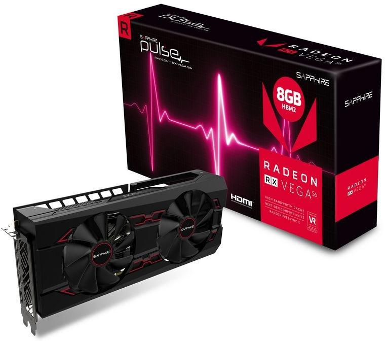 Sapphire lanza su nueva Pulse Radeon RX Vega 56