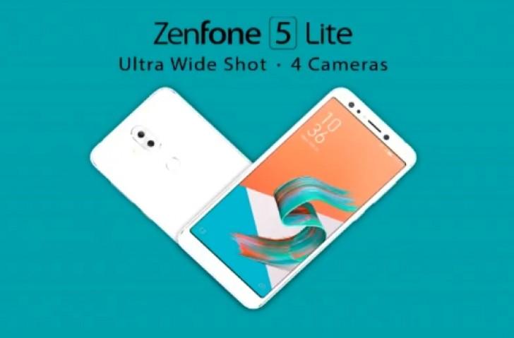 MWC2018: Asus Zenfone 5 Lite con cuatro cámaras