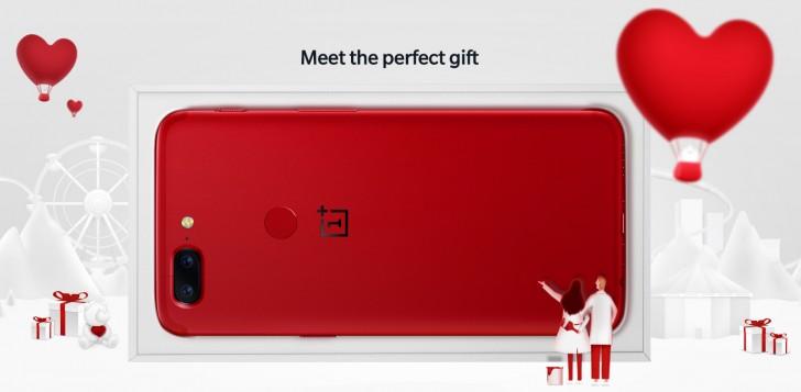 OnePlus 5T Lava Red disponible en Europa y EE.UU