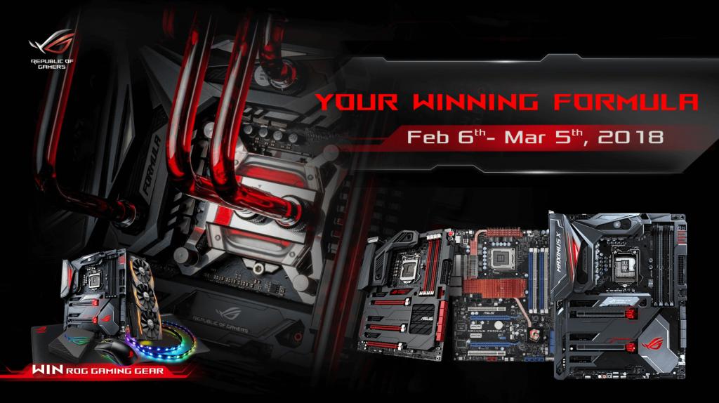 NP: ASUS Republic of Gamers presenta la campaña Tu Fórmula Ganadora