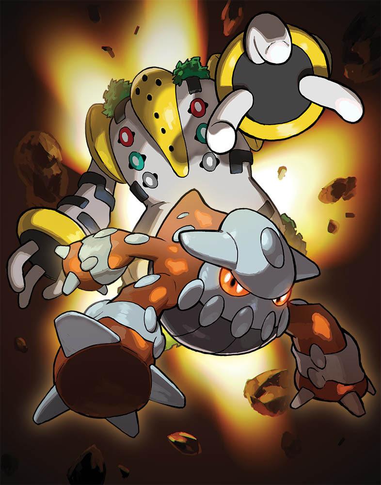 NP: Los Pokémon legendarios Heatran y Regigigas llegan en marzo vía distribución Wi-Fi
