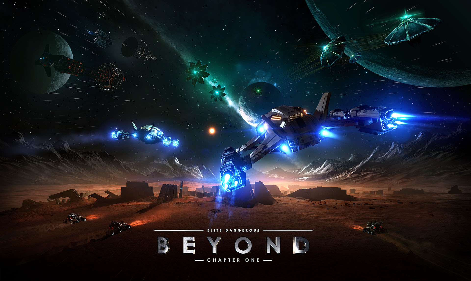 NP: Elite Dangerous: Beyond Chapter One disponible