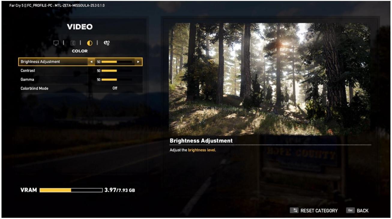 Far Cry 5 y sus opciones gráficas para PC