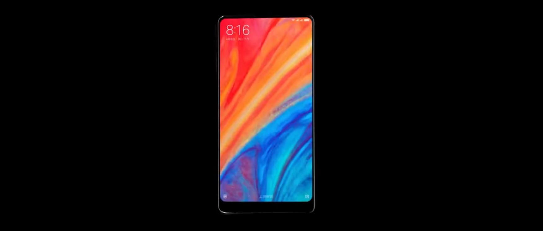 Xiaomi Mi Mix 2s aparece en un video con Pacific Rim