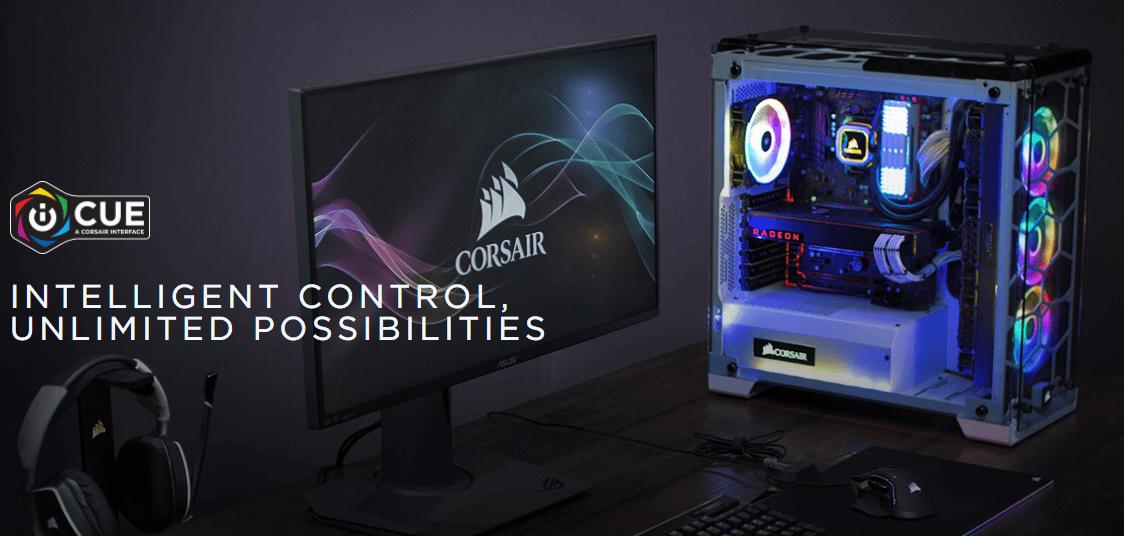 NP: Presentamos CORSAIR iCUE Control inteligente, posibilidades ilimitadas
