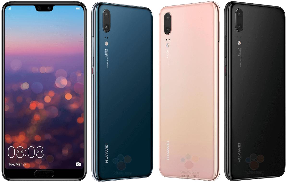Huawei P20 y P20 Pro al detalle gracias a un minorista alemán