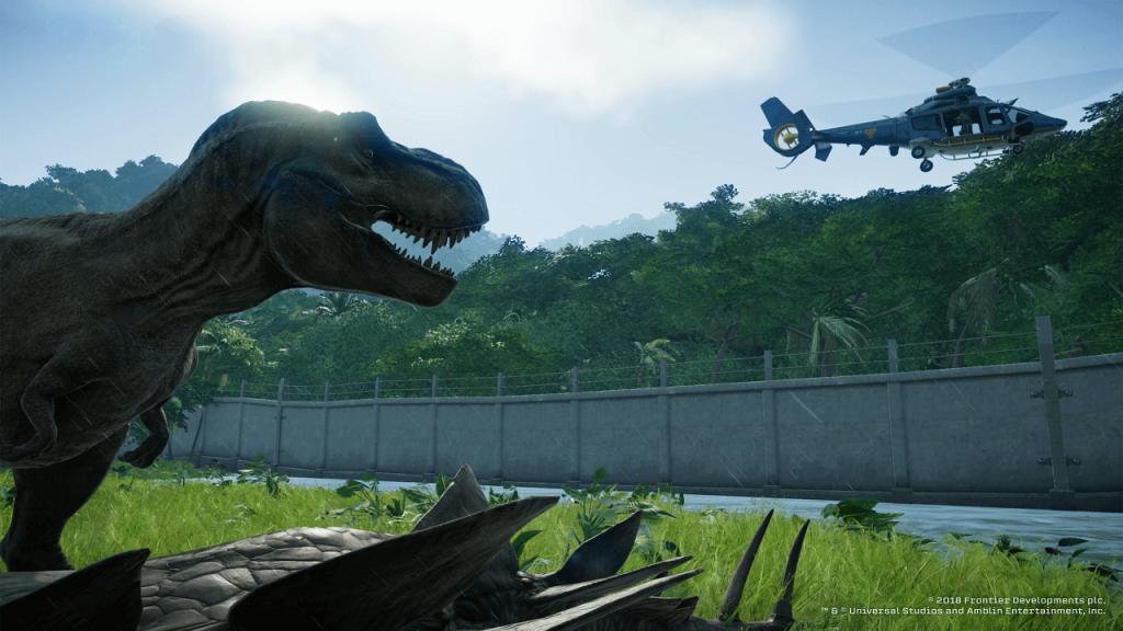 NP: Jurassic World Evolution será lanzado el 12 de Junio de 2018 para PC, PS4 y Xbox One