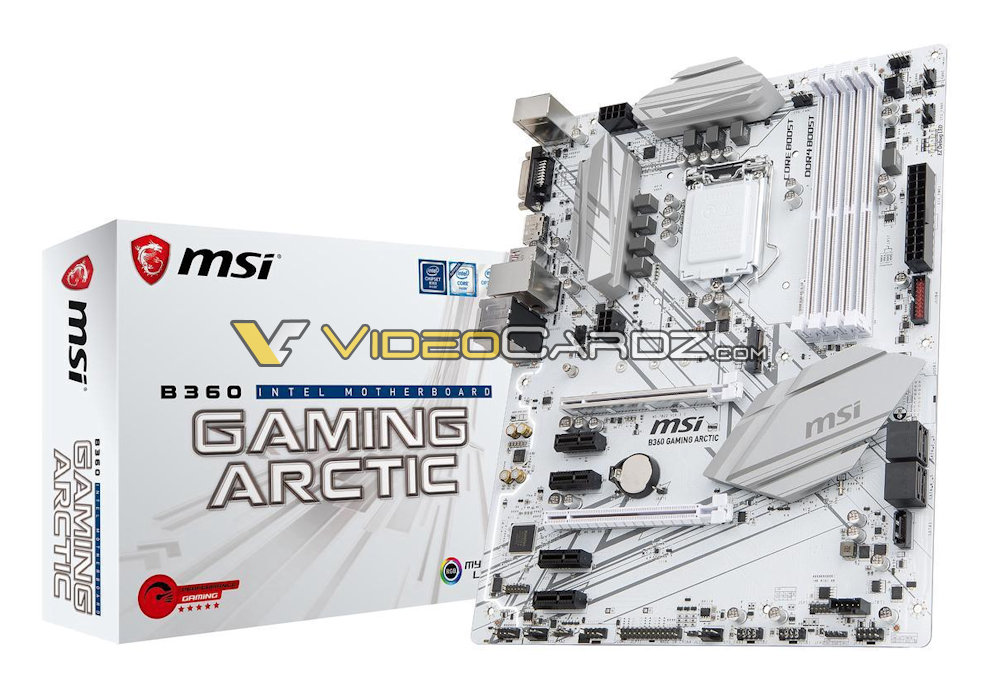 Placas base MSI B360, H370 y H310 avistadas