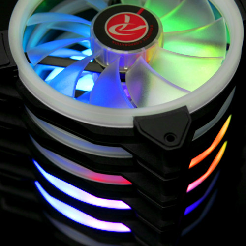 Raijintek lanza sus nuevos ventiladores Iris 14 Rainbow RGB de 140 mm