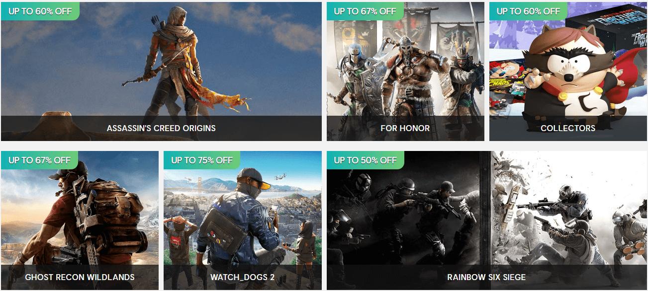 Ubisoft celebra la primavera con una serie suculentas rebajas en Uplay