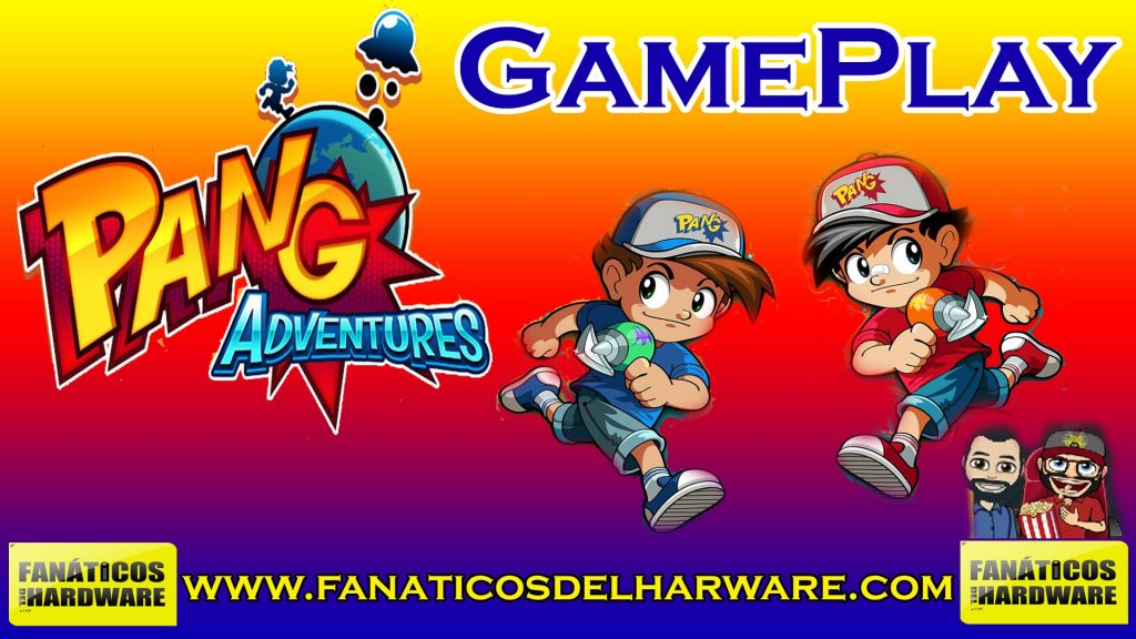 GamePlay: Pang Adventures