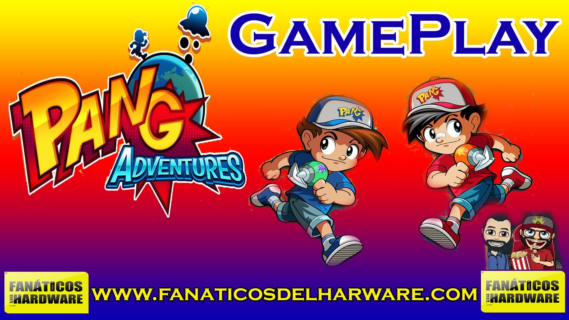 GamePlay: Pang Adventures