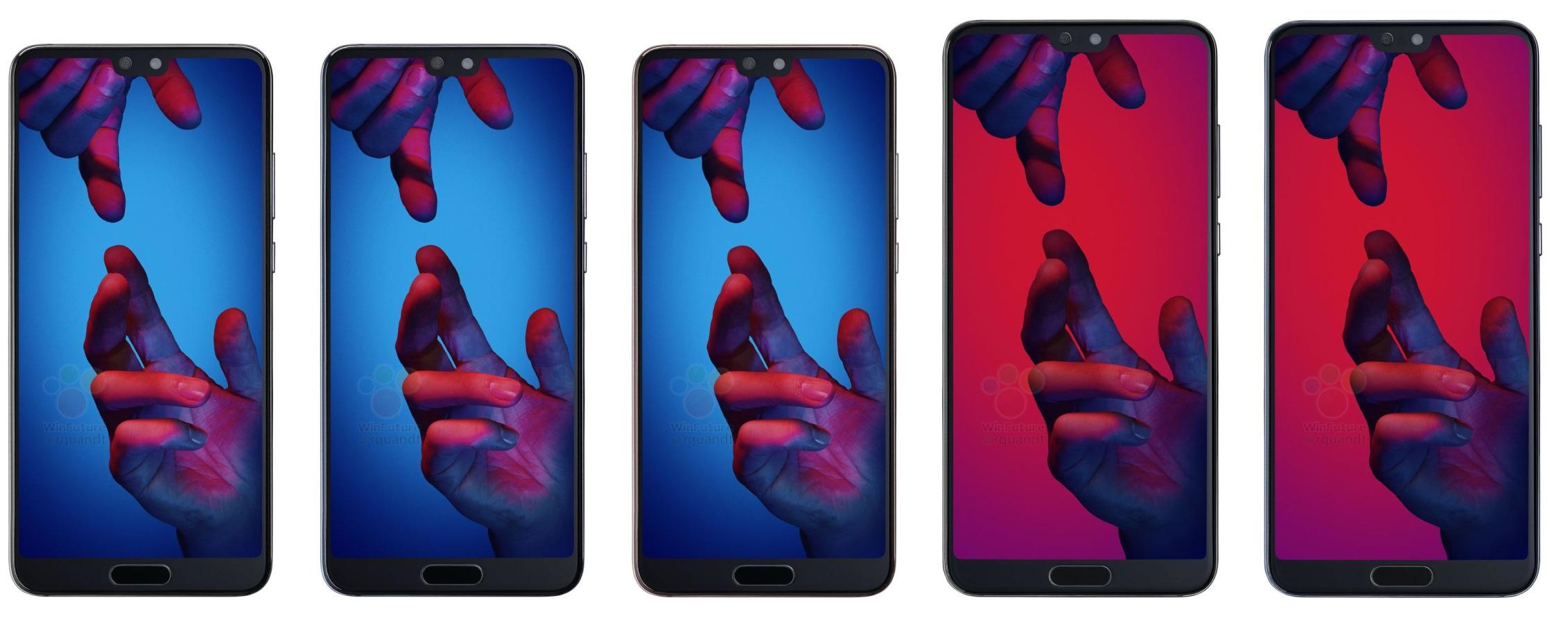 Huawei P20 nueva filtración de precios