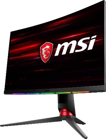 NP: MSI y SteelSeries presentan el primer monitor de gaming curvo del mundo con PrismSync y integración GameSense
