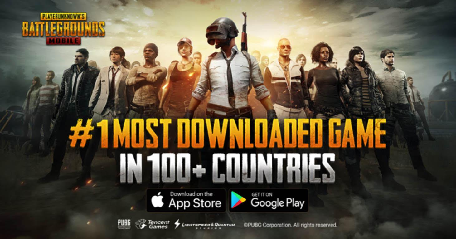 NP: PUBG Mobile alcanza el puesto nº1 en 100 países