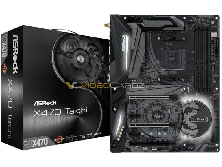 ASROCK X470 Taichi & Taichi Ultimate tiene nueva filtración