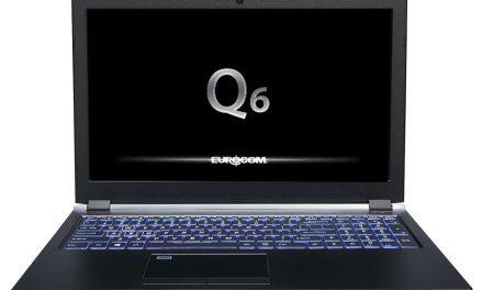Eurocom Q6 ya a la venta: Intel Core i7-8750H y GeForce GTX 1070