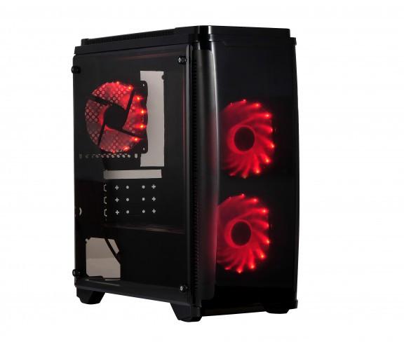 X2 PIRATE 1416 ya a la venta: Interesante torre Micro-ATX de vidrio templado
