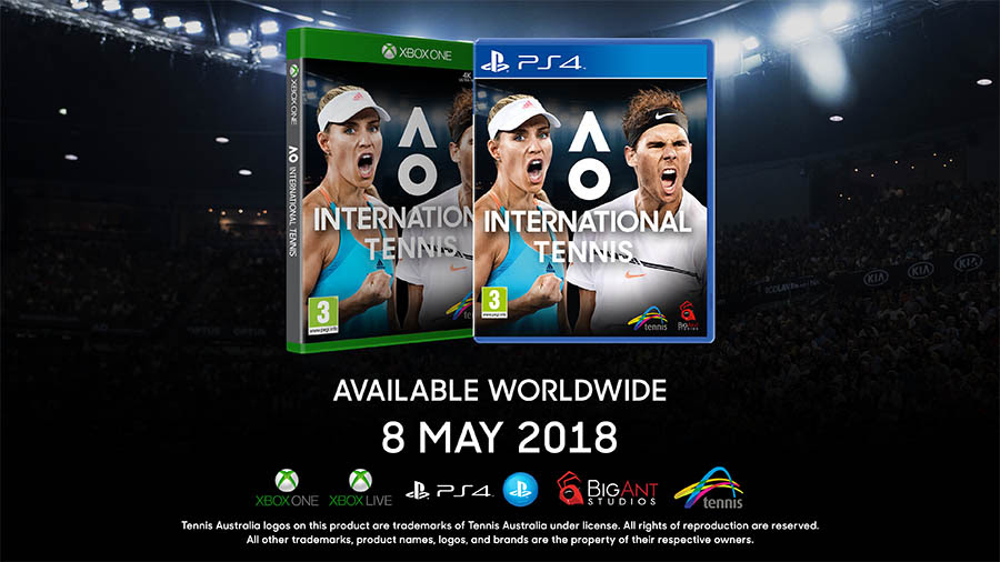NP: Big Ant Studios anuncia AO International Tennis