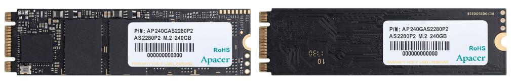 Apacer lanza su nueva y económica serie de SSDs AS2280P2