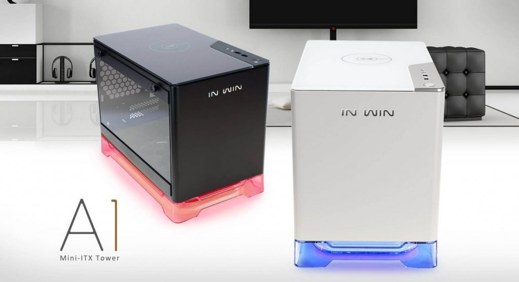 In Win A1 presentada: Elegante torre Micro-ATX de vidrio templado