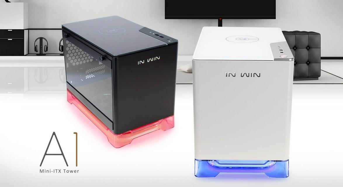 In Win A1 presentada: Elegante torre Mini-ITX de vidrio templado