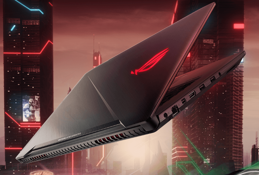 NP: ASUS Republic of Gamers presenta los Strix GL703