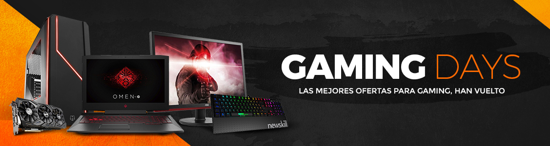 Ofertas: Vuelven los Gaming Days a PCComponentes