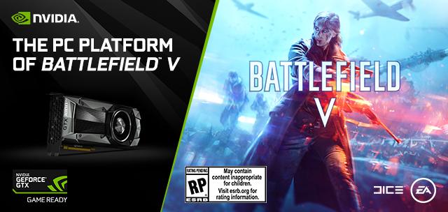NP: Battlefield V elige GeForce GTX como plataforma recomendada en PC