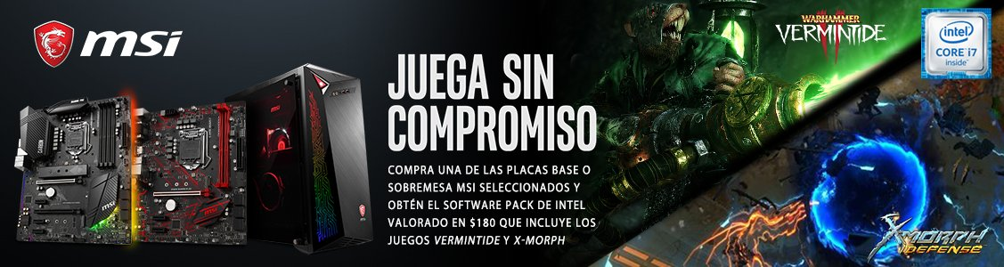 Ofertas: Ahora con MSI obtén un pack de software y juegos grátis !!!