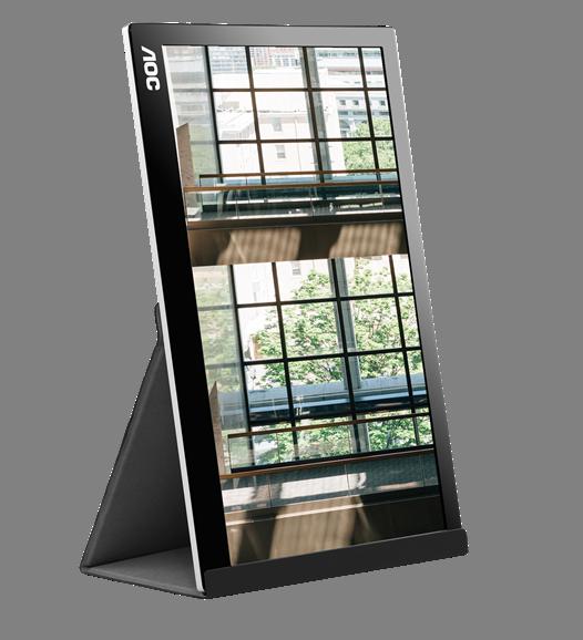 NP: AOC presenta su nuevo monitor portátil con USB-C