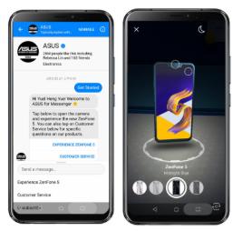 NP: ASUS anuncia la adopción de los nuevos efectos de RA para Messenger