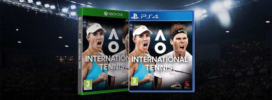 NP: AO International Tennis ofrece un avance de su Gameplay y sus diferentes tipos de golpes