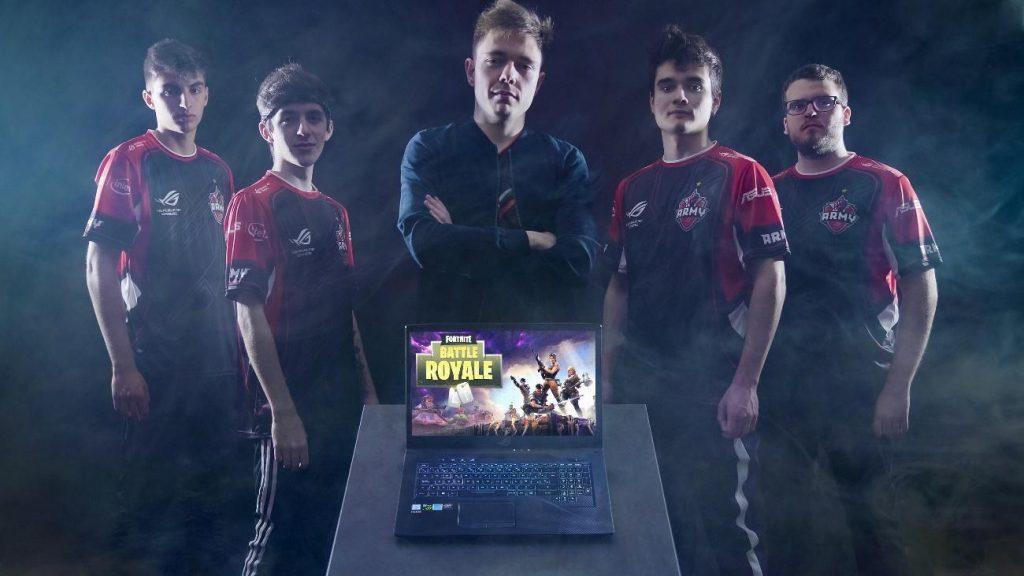 NP: ASUS ROG Army presenta a su equipo de Fortnite y aprovecha para anunciar su acuerdo con Yamaha