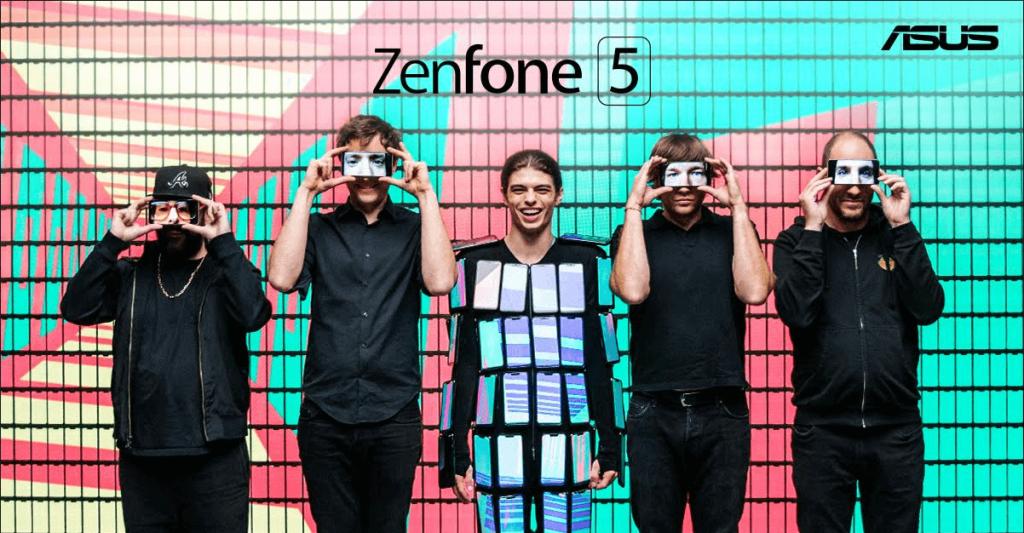 NP: ASUS y OK Go colaboran en un increíble vídeo del ZenFone 5