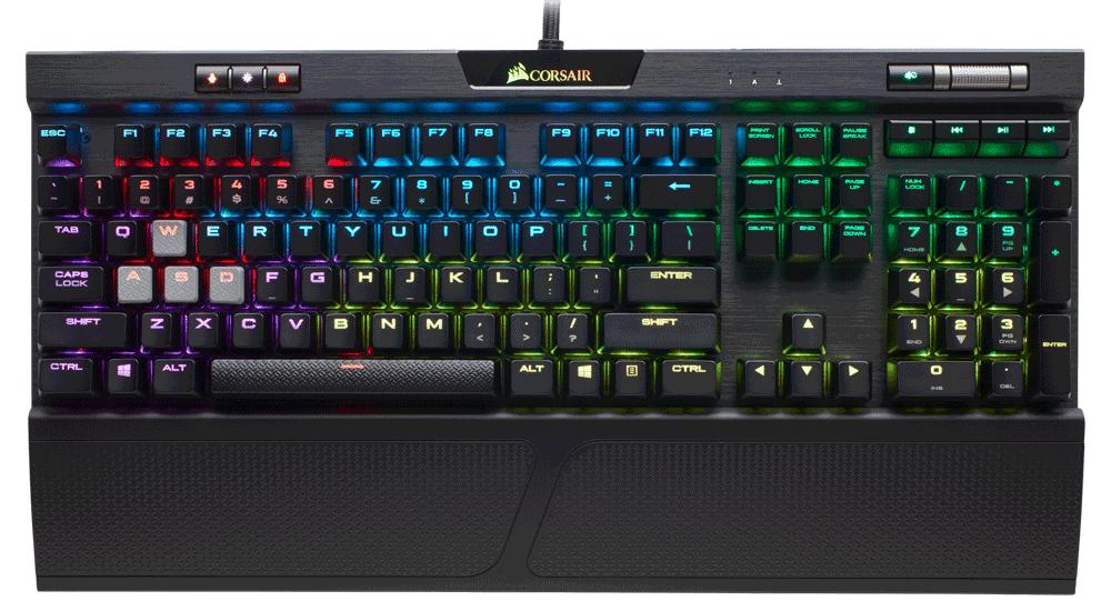 NP: Elige tu switch y hazte con el mundo CORSAIR lanza los nuevos teclados mecánicos para juegos K70 RGB MK.2 y STRAFE RGB MK.2