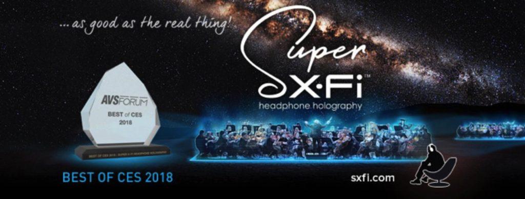 NP: Creative retransmitirá desde Computex, en directo, el evento de tecnología holográfica Super X-Fi