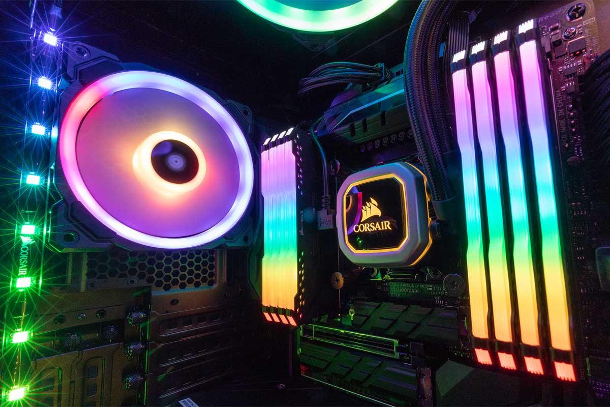 NP: CORSAIR lanza el nuevo software iCUE junto con la memoria VENGEANCE RGB PRO DDR4 y el chasis Obsidian Series 500D RGB SE en Computex 2018