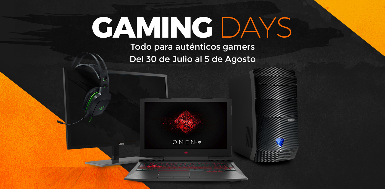 Ofertas: Regresan los Gaming Days a PCComponentes