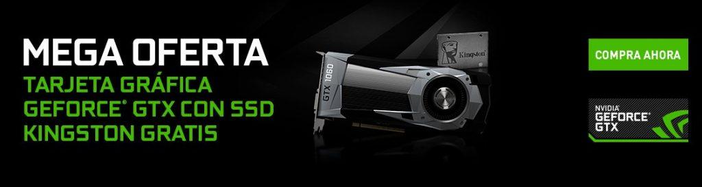 SSD Kingston gratis por la compra de una GPU de NVIDIA